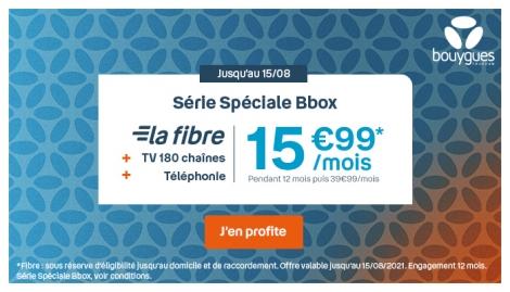 Bbox Fibre Bouygues