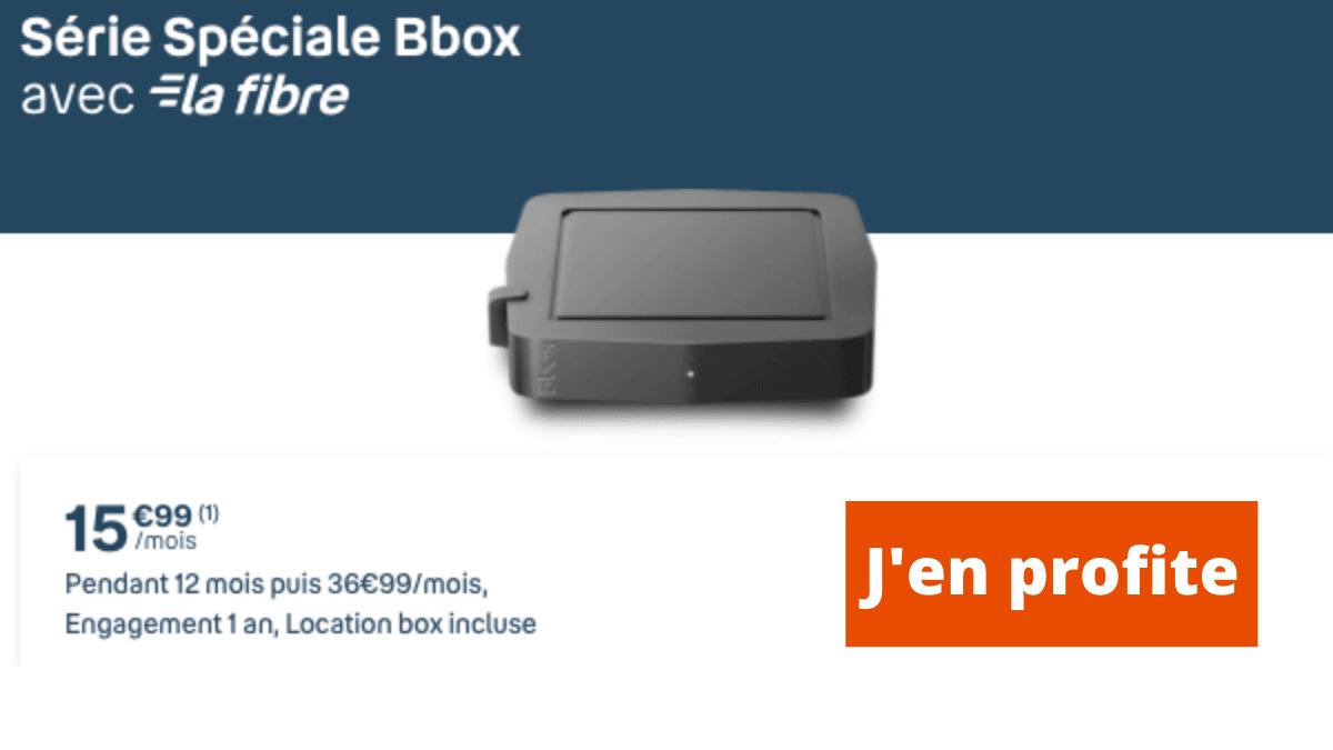 Bbox box internet en promotion