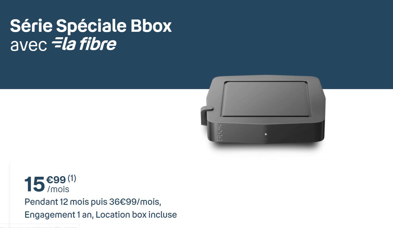 La bbox serie speciale