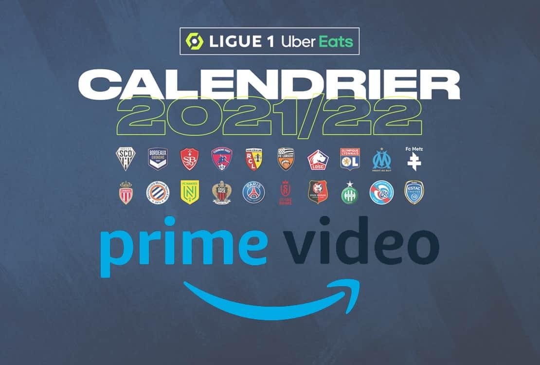 calendrier Amazon Prime Video Ligue 1