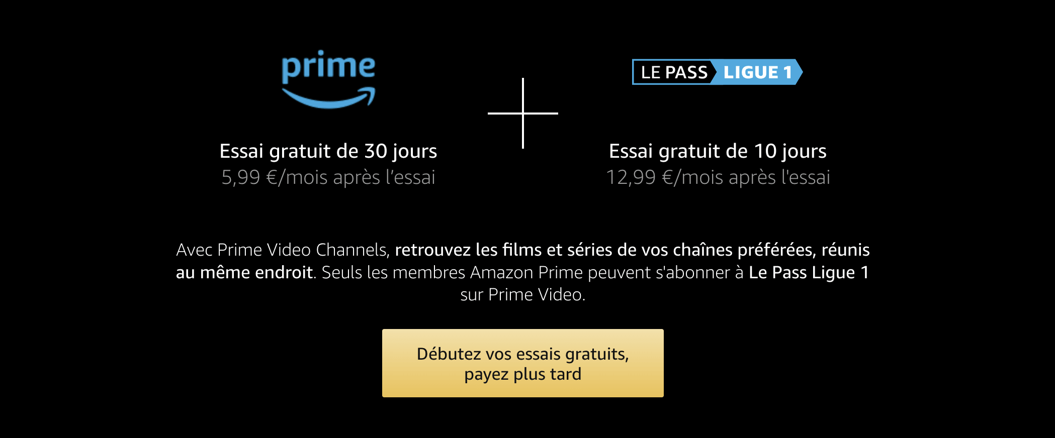 Pass Ligue 1 Amazon