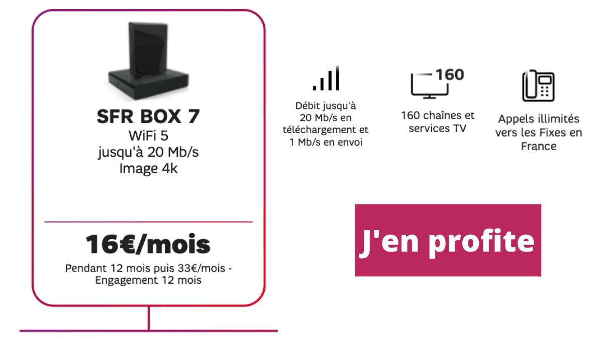 SFR box internet en promotion