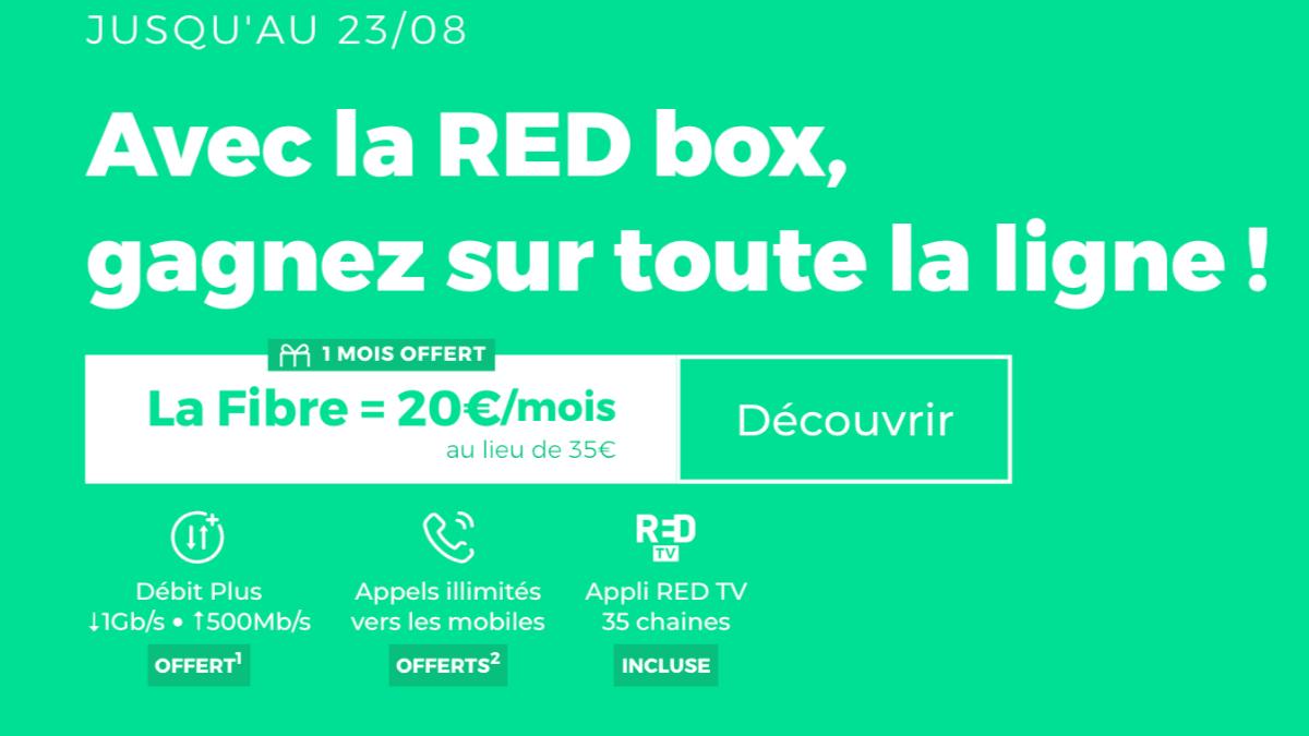 Box pas chère avec RED by SFR