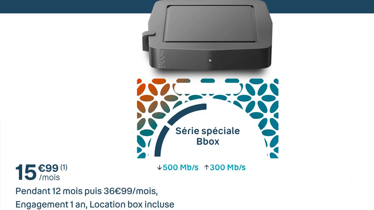 La Box fibre optique de Bouygues, la série spéciale