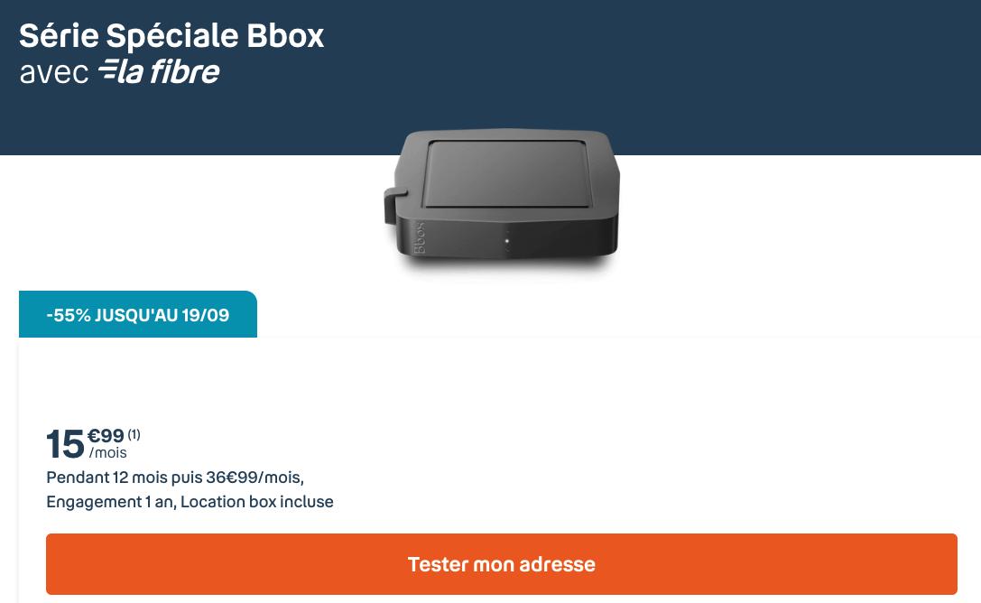 La Bbox série spéciale