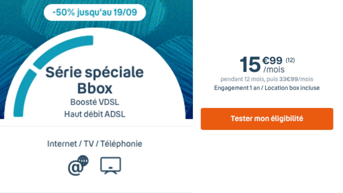 Bouygues Telecom et sa série spéciale Bbox