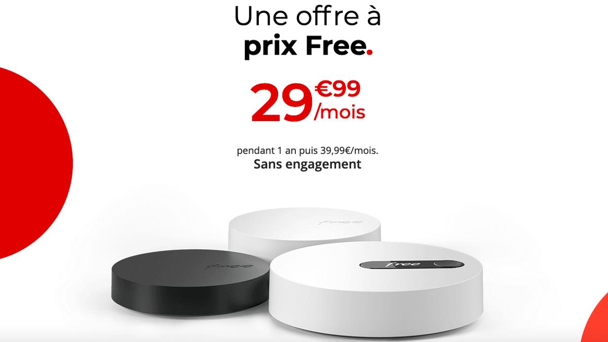 La box fibre optique de Free, la Freebox Pop en action