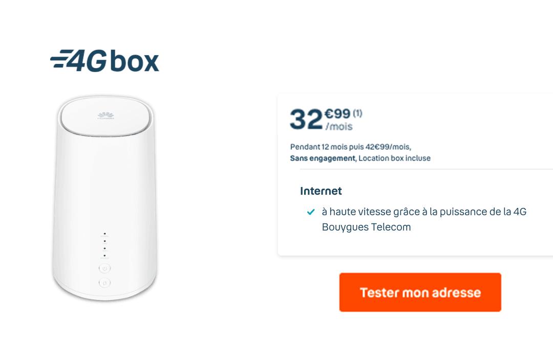 Box 4G Bouygues Telecom
