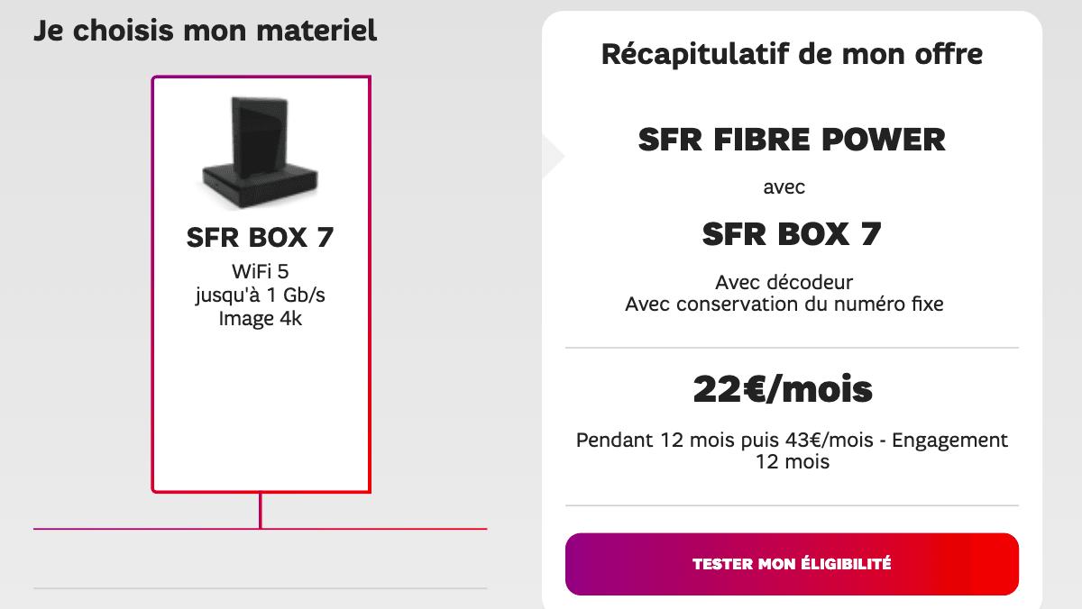 Box fibre de SFR
