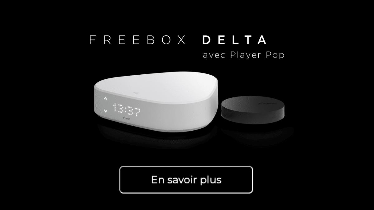 Promotion sur la Freebox Delta