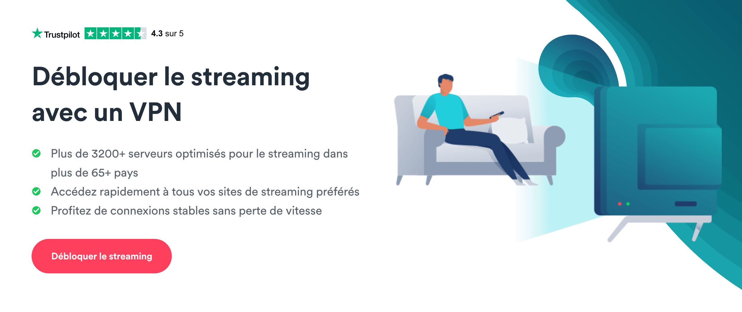 Streaming Surfshark VPN