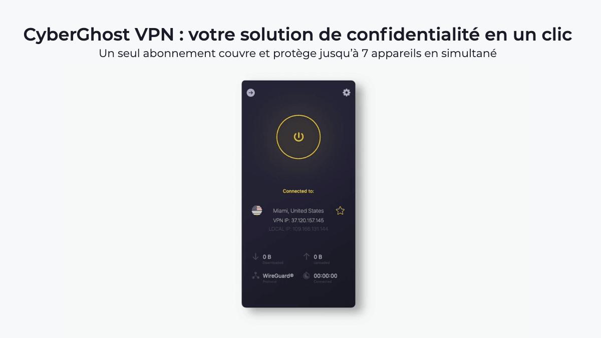 Le VPN pour étudiants CyberghostVPN