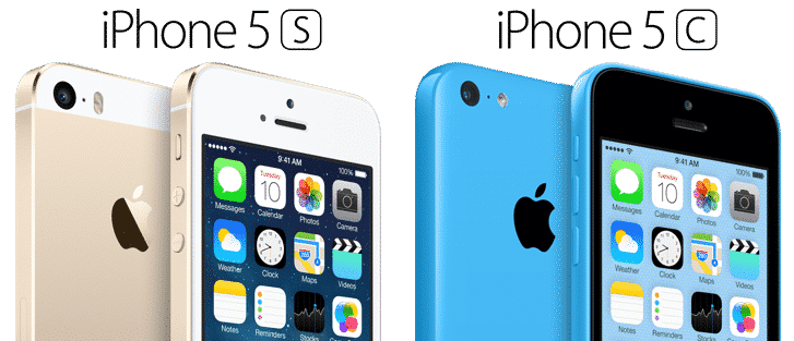 Forfaits iPhone 5S iPhone 5C