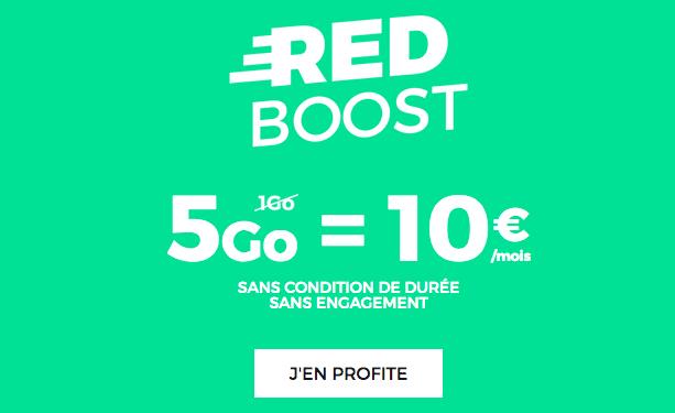 Forfait RED 5 Go à 10€