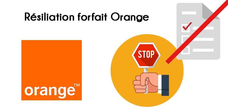 Résilier forfait mobile Orange