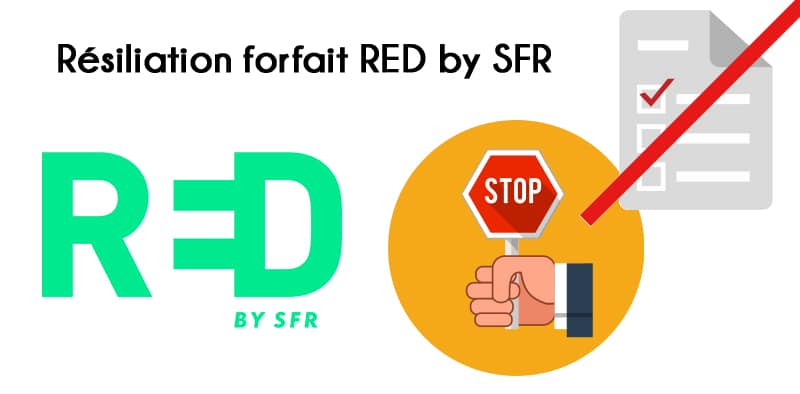 Résilier forfait mobile RED by SFR