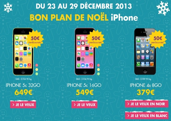 Offre Iphone Orange Noel