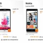 Plein de promos et de smartphones à 1,00 € chez Orange !