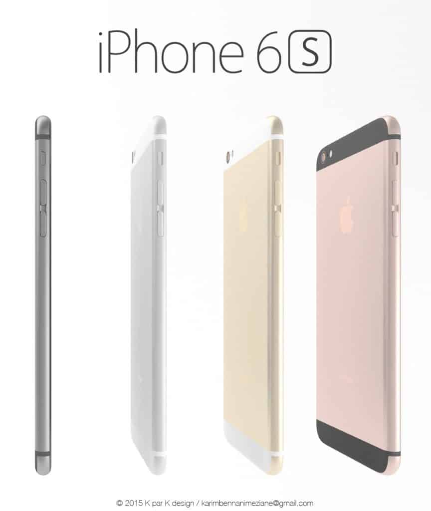 d couverte de l 39 iphone 6s sensor les nouveaut s pr vues concept. Black Bedroom Furniture Sets. Home Design Ideas