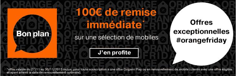 black friday orange 100 de remise sur l 39 iphone 5s et le galaxy note 4. Black Bedroom Furniture Sets. Home Design Ideas