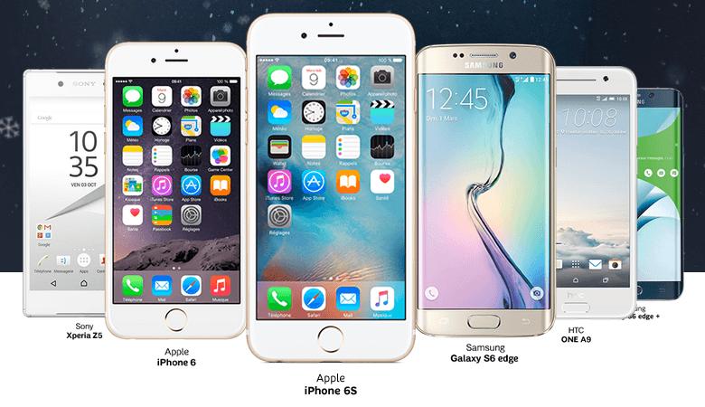 difficile de refuser l 39 iphone 6s ou le galaxy s6 edge 0 chez sfr