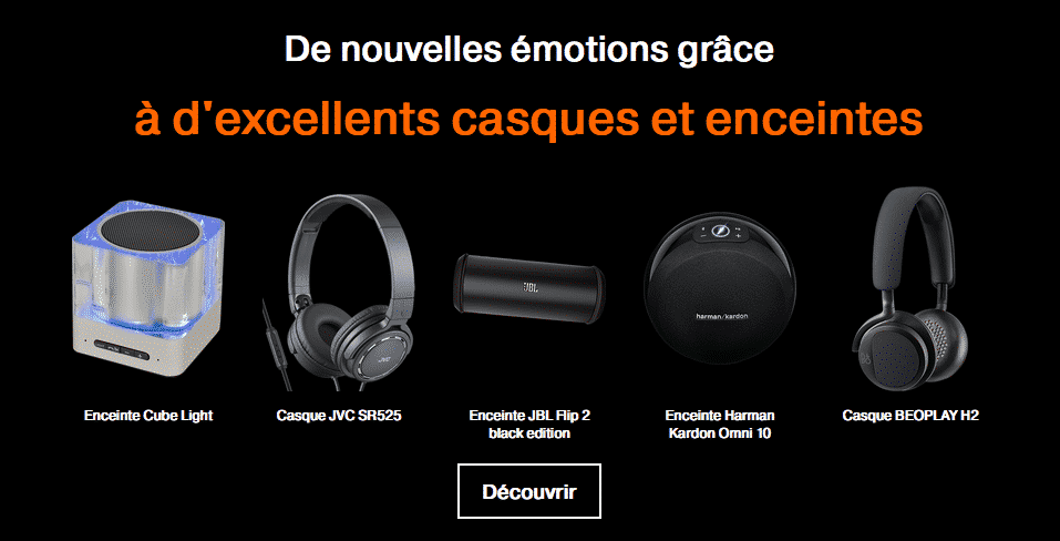 Casque-Audio-Orange