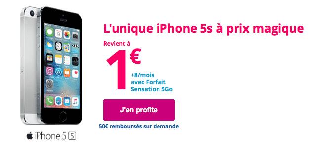 Forfait Mobile Avec Iphone 5s