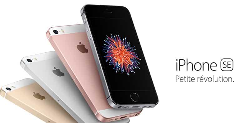 85893ac2877b iPhone SE   les meilleurs forfaits pour le payer moins cher