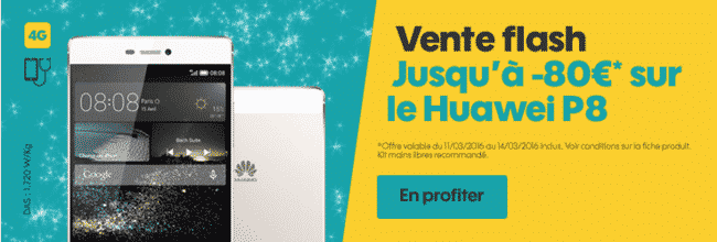 Vente flash chez sosh huawei p8 avec 80 euros de r duction - Vente flash champagne ...