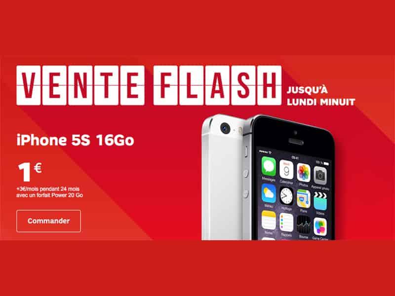 vente flash sfr l 39 iphone 5s iphone 6s et huawei p8 moins chers. Black Bedroom Furniture Sets. Home Design Ideas
