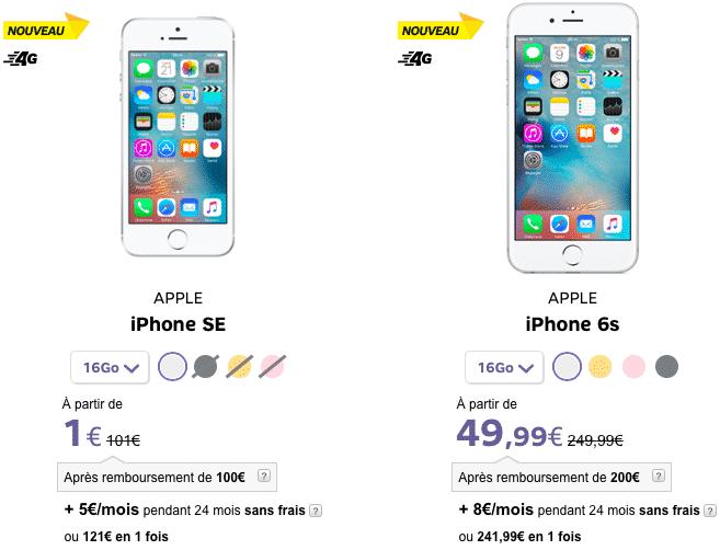 Sfr 50 Euros Sur Tous Les Telephones De La Boutique De Sfr