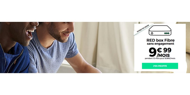la promo sur la box internet fibre de red by sfr 9 99 sur le point de se terminer. Black Bedroom Furniture Sets. Home Design Ideas
