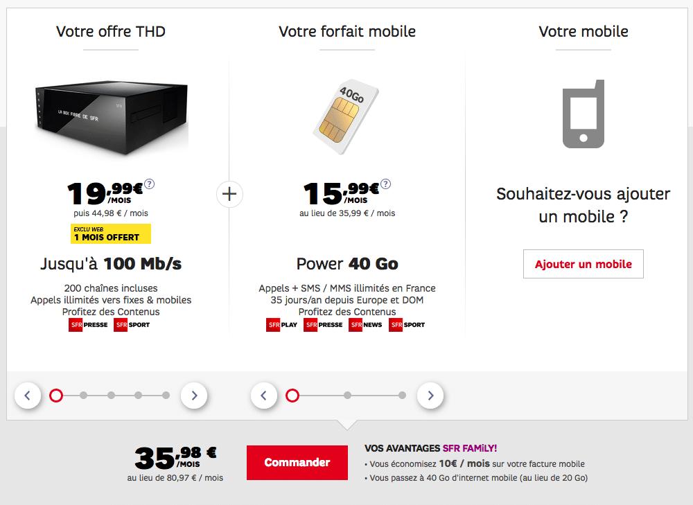 forfait internet simple sfr