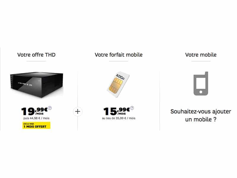 votre offre internet sfr avec un forfait mobile avantages et r ductions en cascade. Black Bedroom Furniture Sets. Home Design Ideas