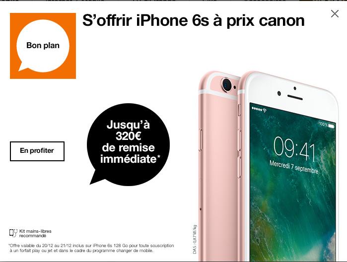Promo Noel Orange Iphone