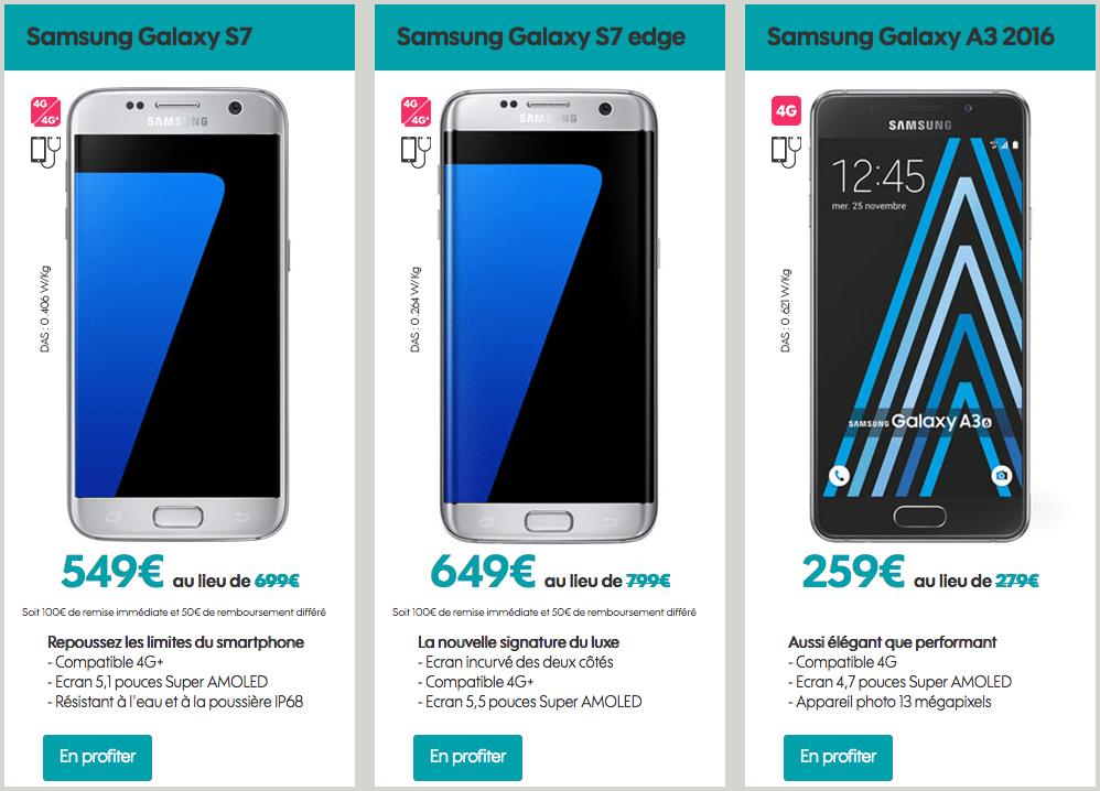 Vente flash Sosh   réduction de 150 euros sur les Samsung Galaxy S7 ... fb121447b0b3