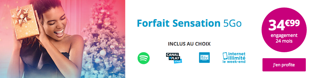 Forfait Sensation 5 Go