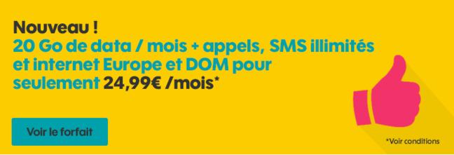 forfait mobile avec iphone 4 gratuit