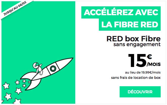 Box internet RED by SFR Fibre