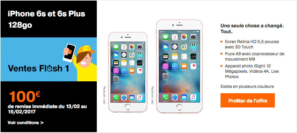 Forfait Open Iphone