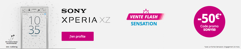 Code promo Sony Xperia XZ Bouygues
