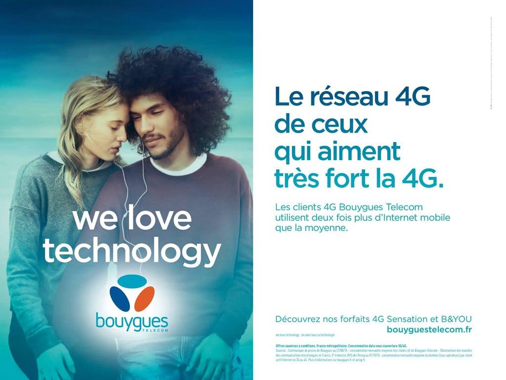 Bouygues Télécom développe réseau son 4G