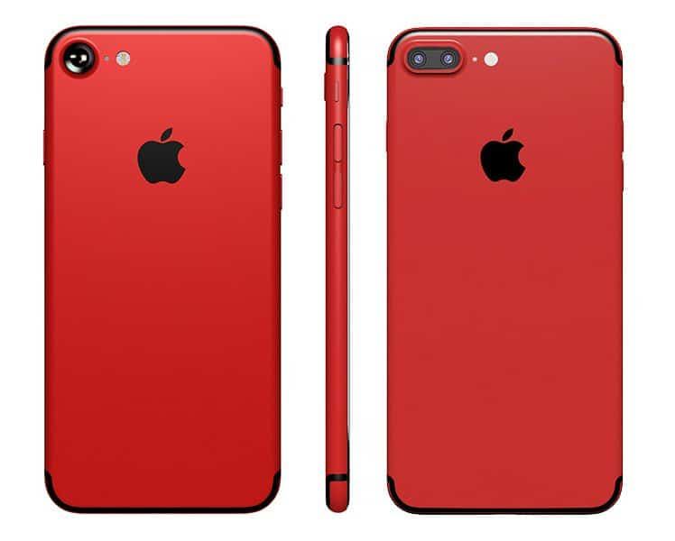 iPhone 7 Rouge Apple