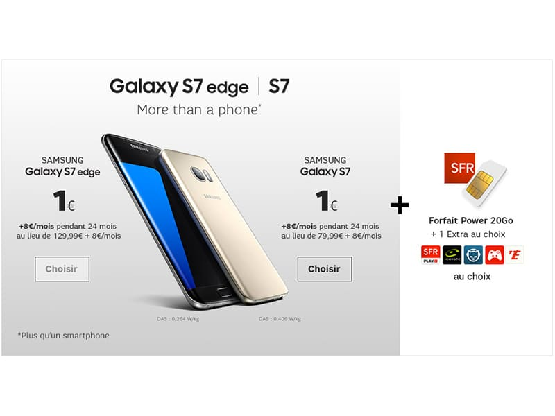 sfr lance une nouvelle vente priv e avec les galaxy s7 et s7 edge 1. Black Bedroom Furniture Sets. Home Design Ideas