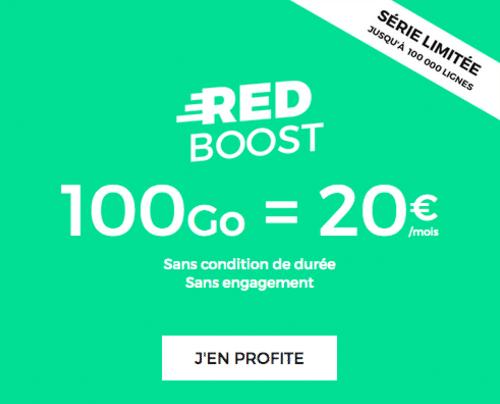Offre de RED à 100 Go