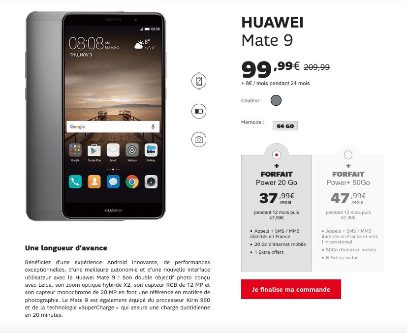 Huawei Mate 9 SFR