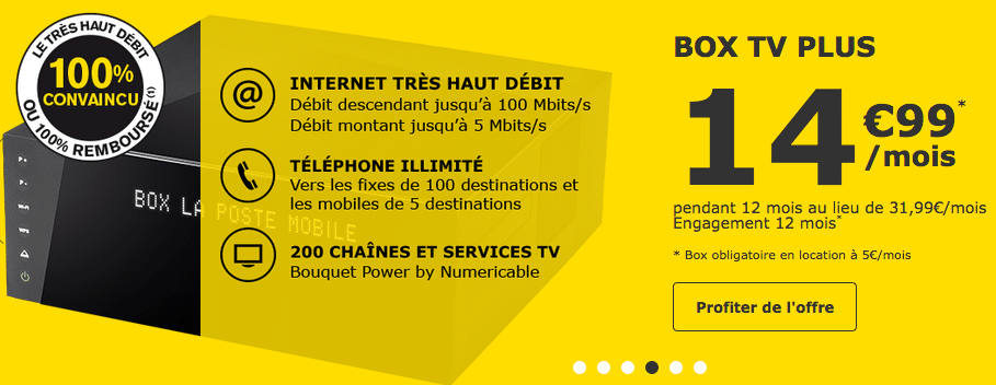 Offre internet La Poste Mobile