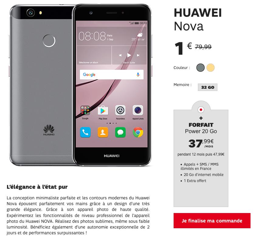 Huawei Nova SFR
