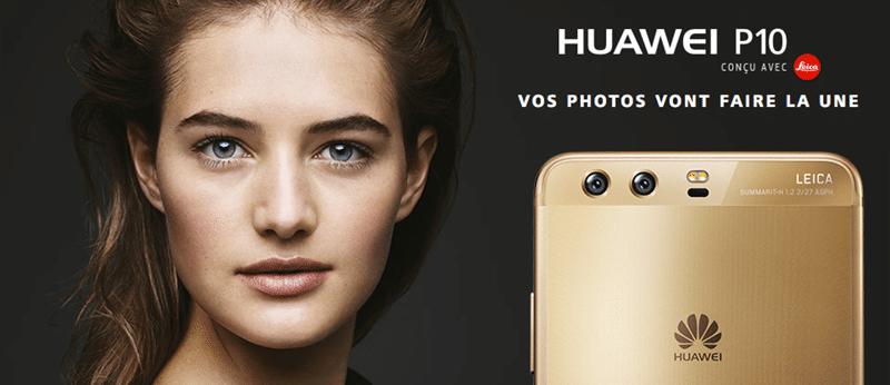 Forfaits Huawei P10