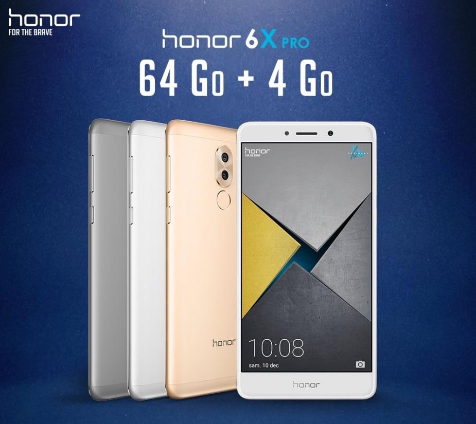 Free propose le Honor 6X Pro
